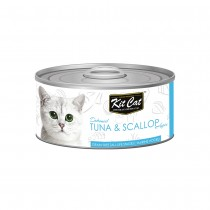 Kit Cat Deboned Tuna & Scallop Toppers 80g