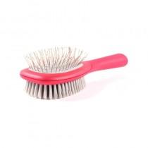 Le Salon Essentials Bristle/Steel Pin Combo Brush for Dogs