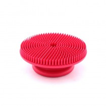 Le Salon Essentials Round Rubber Grooming Brush for Dogs