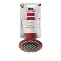 Le Salon Essentials Rubber Slicker Brush for Dogs