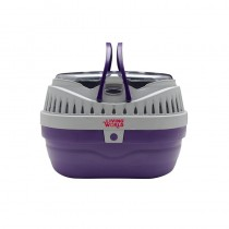 Living World Pet Carrier in Purple - Small
