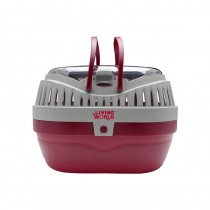Living World Pet Carrier in Red - Large