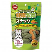 Marukan Grass & Carrot Snack for Small Animals
