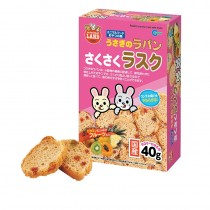 Marukan Rabbit Crunchy Rusk with Fruits