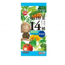 Marukan Diet Food for Rabbit with 14 Kind of Vegetables