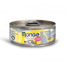Monge Delicate Chicken Cat Canned Food 80g