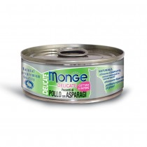 Monge Delicate Chicken With Asparagus Cat Canned Food 80g