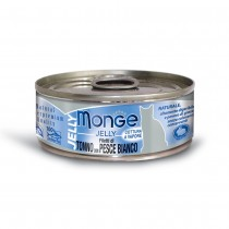 Monge Jelly Yellowfin Tuna With Seabream Cat Canned Food 80g