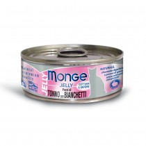 Monge Jelly Yellowfin Tuna With Whitebait Cat Canned Food 80g