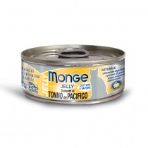 Monge Jelly Yellowfin Tuna Cat Canned Food 80g