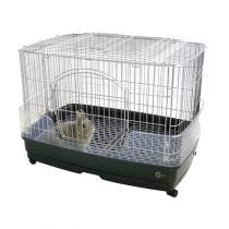 Marukan Rabbit Cage With Clear Guard - Small