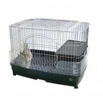 Marukan Rabbit Cage With Clear Guard - Medium