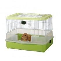 Marukan Rabbit Cage In Green