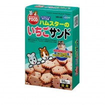 Marukan Strawberry Sandwhich Biscuit for Hamsters