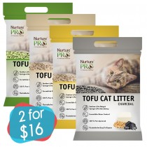 2 for $16: Nurture Pro Tofu Litter