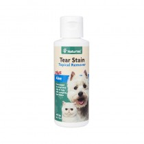 NaturVet Tear Stain Topical Remover with Aloe