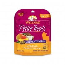 Wellness Petite Crunchy Mini Bites - Duck, Mango & Coconut (Grain Free)