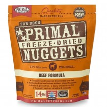Primal Freeze Dried Beef Nuggets for Dogs