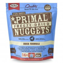 Primal Freeze Dried Duck Nuggets for Dogs