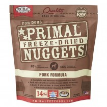 Primal Freeze Dried Pork Nuggets for Dogs