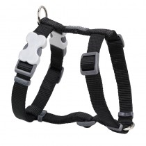 Red Dingo Classic Black Harness for Dogs