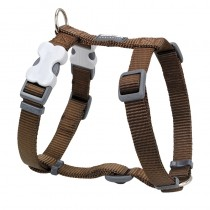 Red Dingo Classic Brown Harness for Dogs