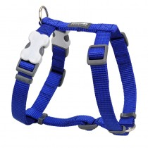 Red Dingo Classic Dark Blue Harness for Dogs