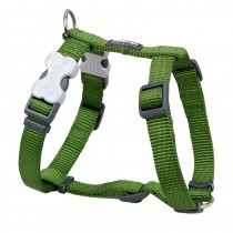 Red Dingo Classic Green Harness for Dogs