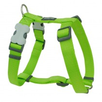 Red Dingo Classic Lime Green Harness for Dogs