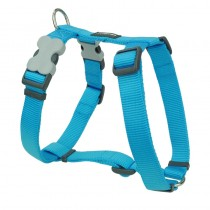 Red Dingo Classic Turquoise Harness for Dogs