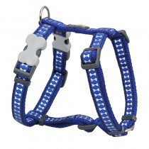 Red Dingo Reflective Dark Blue Harness for Dogs