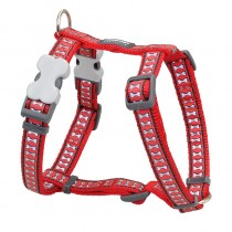 Red Dingo Reflective Red Harness for Dogs