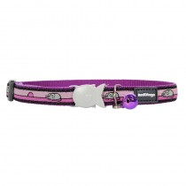 Red Dingo Mouse Design Quick Release Safety Cat Collar