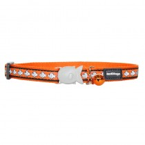 Red Dingo Reflective Quick Release Safety Cat Collar