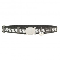 Red Dingo Reflective Ziggy Quick Release Safety Cat Collar