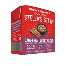 Stella & Chew's Single Source Stew for Dogs - Cage Free Turkey Recipe