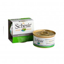Schesir Chicken Fillet Natural Style in Water Feline Canned Food