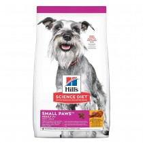 Hill's Science Diet Adult 7+ Small Paws Chicken Meal, Barley & Brown Rice Recipe Dry Dog Food