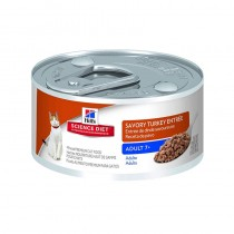 Hill's Science Diet Adult 7+ Savory Turkey Entrée Canned Cat Food