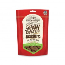 Stella & Chewy's Raw Coated Biscuits for Dogs - Cage Free Duck Recipe