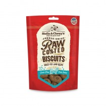 Stella & Chewy's Raw Coated Biscuits for Dogs - Grass Fed Lamb Recipe
