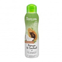 Tropiclean Papaya & Coconut Pet Shampoo & Conditioner