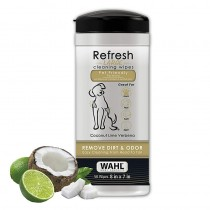 Wahl Refresh Cleaning Wipes - Coconut Lime Verbena