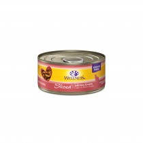 Wellness Complete Health Sliced - Salmon Entree Canned Cat Food