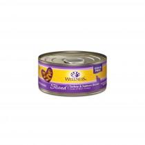 Wellness Complete Health Sliced - Turkey & Salmon Dinner Canned Cat Food