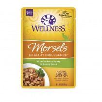 Wellness Healthy Indulgence Morsels Chicken & Turkey (Grain Free) For Cats