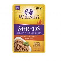 Wellness Healthy Indulgence Shreds Tuna & Shrimp (Grain Free) For Cats