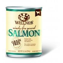 Wellness 95% Salmon Canned Dog Food