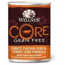Wellness CORE Original - Turkey, Chicken Liver & Turkey Liver Canned Dog Food