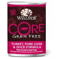Wellness CORE - Turkey, Pork Liver & Duck Canned Dog Food